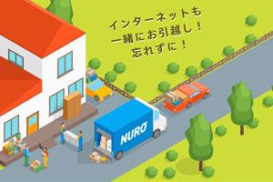NURO光引っ越しキャンペーン